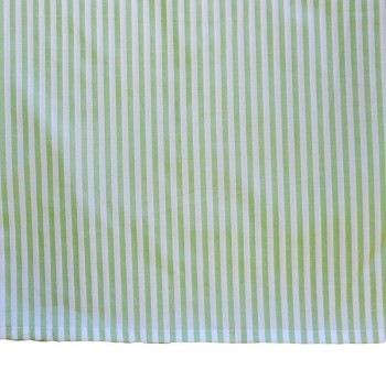 "12"" Custom Lime Green Stripe Tailored Skirt"
