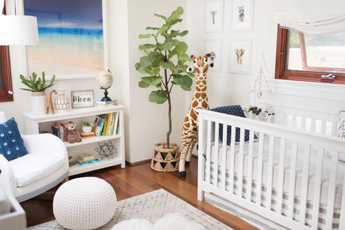 Alex Murrel Looked To New Arrivals Inc Owner Tori Swaim Help Design Her Boho Chic Inspired Nursery