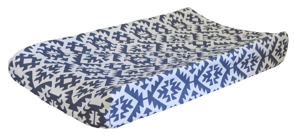 Blue Changing Pad Covers