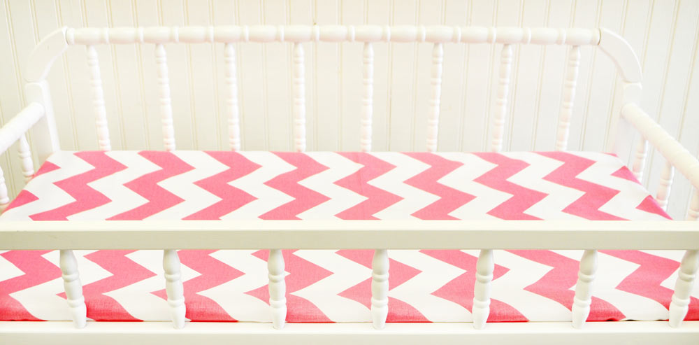 Pink Changing Pad Covers