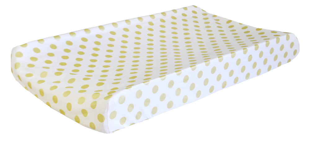 Gold Changing Pad Covers