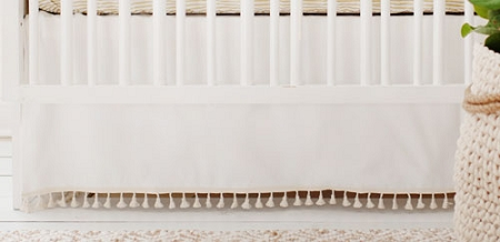neutral gold and white baby bedding gold dust collection - White Baby Crib
