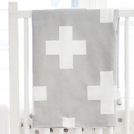 Gray Baby Blankets