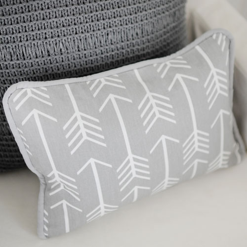 Black And Gray Throw Pillows