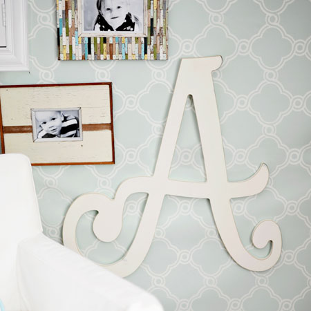 Cursive Wall Letters Pleasing Wooden Letters  Wall Letters  Wooden Letters For Nursery Design Ideas