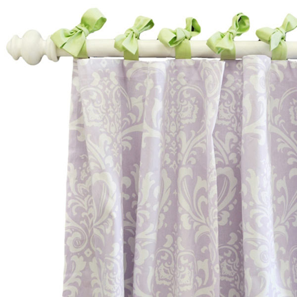 Lavender and Purple Curtain Panels
