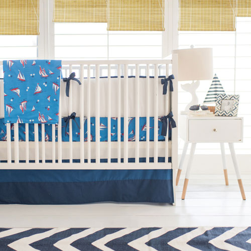 Nautical Crib Bedding