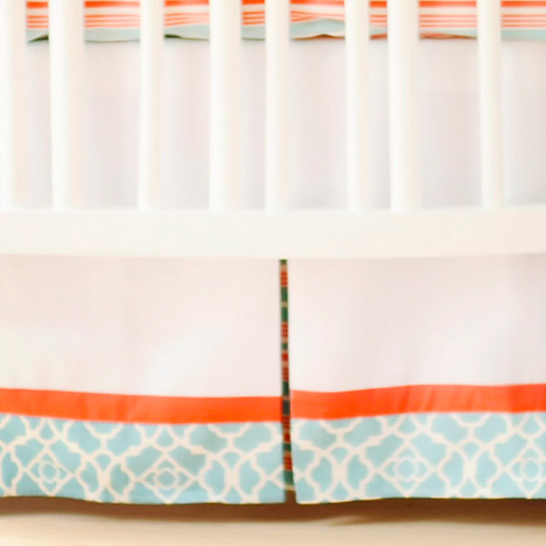 Crib Skirt Nursery Skirt Crib Bed Skirt Crib Skirts