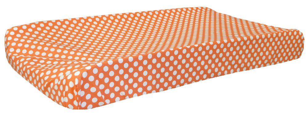 Orange Changing Pad Covers