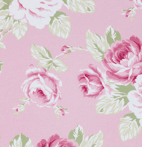 Pink Nursery Fabrics by the Yard