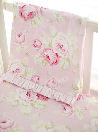 Pink Floral Baby Bedding Rose Crib Bedding Floral Baby