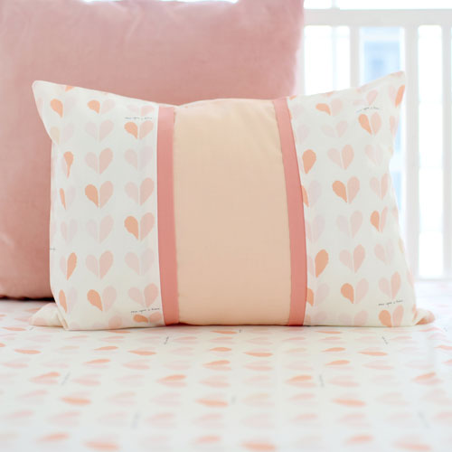 Coral and Pink Throw Pillows