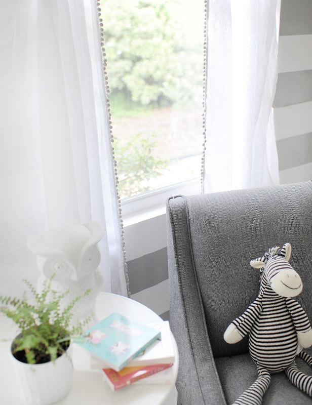 Good Soft Whisper Linen Curtain Panels With Pom Pom Trim