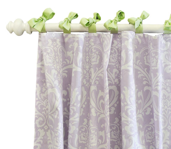 Lavender/Purple Curtain Panels