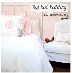 big kid bedding