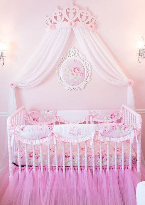 Floral Crib Bedding Floral Baby Bedding Baby Girl