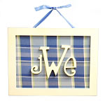 Rectangle Monogram Plaque