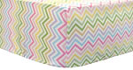 Chevron Multi Crib Sheet