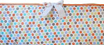 Circus Dot Custom Crib Bumper
