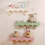 Wooden Shelves | Scalloped Cottage Wooden Shelves