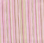 Cotton Candy Stripe Crib Sheet