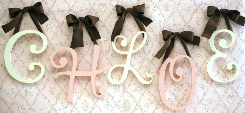 Cursive Letters, Wooden Letters, Wooden Letters Kids, Name Wooden ...