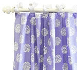 Ottoman Periwinkle Rib Shower Curtain - Shower Curtains at Shower