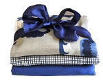 Dakota Blue Burp Cloth Set