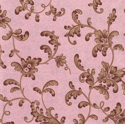 Pink and Mocha Floral