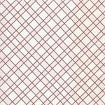 Criss Cross in Pink and Chocolate Fabric