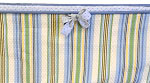 Double Corded Stripe Crib Bumper