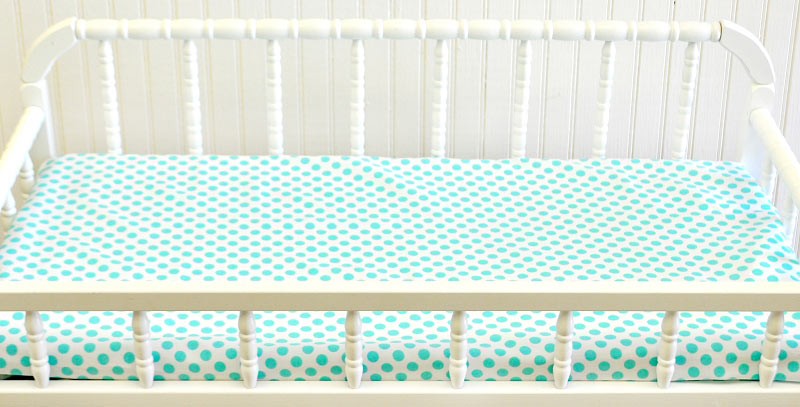 Aqua Changing Pad Covers