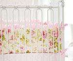 In Full Bloom Crib Bumper