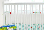 Jelly Bean Parade Crib Bumper