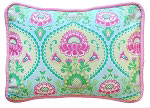 Layla Rose Throw Pillow
