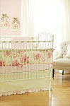 Roses for Bella Baby Bedding