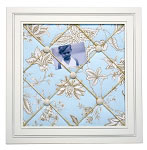 Gypsy Floral Framed Memo Board