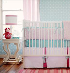 Pinwheel Punch Baby Bedding