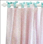 Pinwheel Punch Curtain Panels