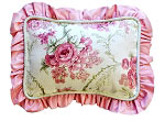 Roses for Bella Throw Pillow