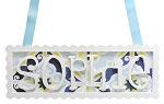 Scalloped Name Plaque - 6 Letters