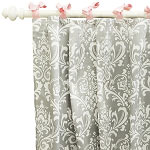 Stella Gray Curtain Panels