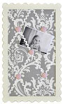 Stella Gray Mini Fabric Memo Board