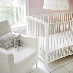 Stella Gray Bumperless Crib Sheet
