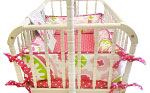Strawberry Fields Cradle Bedding Set