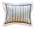 Stripe Throw Accent Pillow