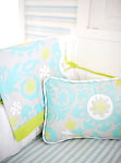 Summer Breeze Crib Blanket