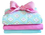 Sweet Baby Jane Burp Cloth Set