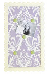 Sweet Violet Mini Fabric Memo Board