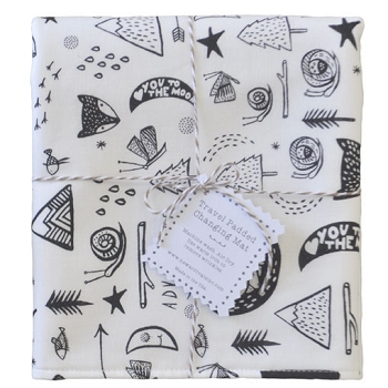 Woodland Travel Changing Pad | Adventure Awaits Collection